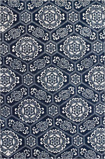 呉服鈴木 | 浴衣 | 万華鏡 I just love these navy and white patterns!