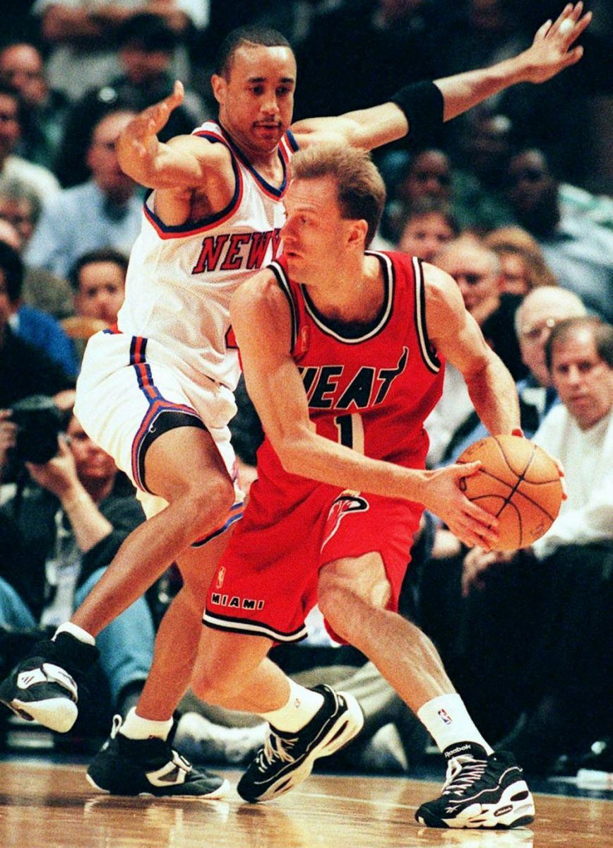 John Crotty Miami Heat John Starks New York Knicks  c2249ba2a
