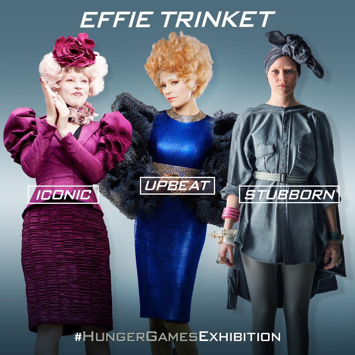 Discover Effie's fashion evolution at The #HungerGamesExhibition.