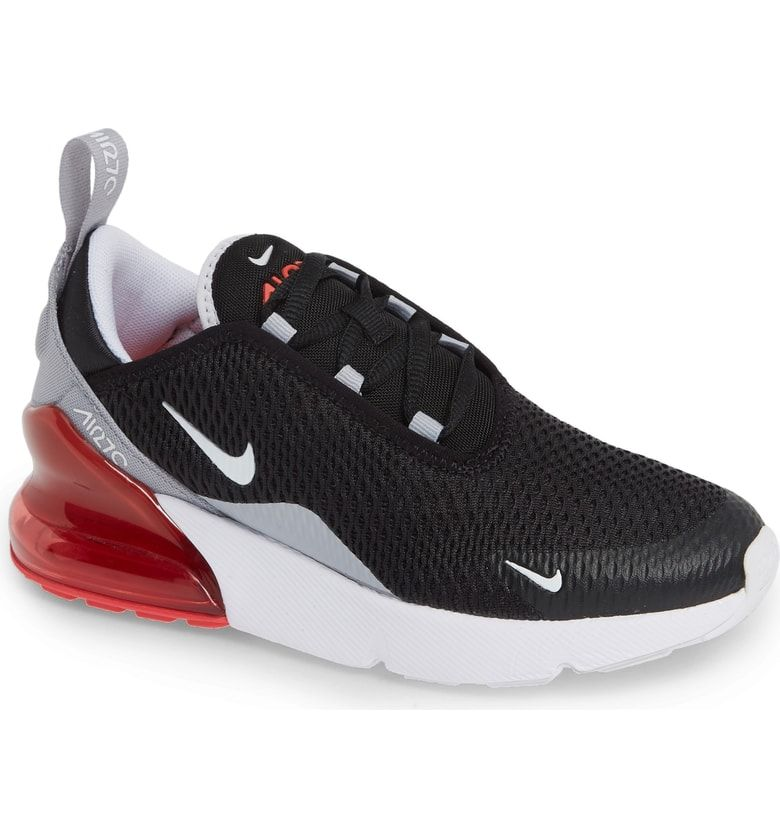 NIKE Air Max 270 Sneaker boys in BLACK WHITE EMBER GLOW