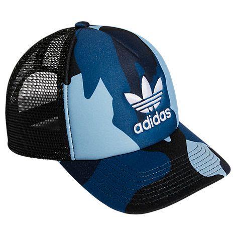 94cc0030226db ADIDAS ORIGINALS ORIGINALS FOAM TRUCKER SNAPBACK HAT