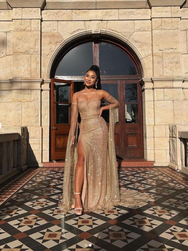 2af4588709c Jocelina - Gold in 2019   Customer photos   Formal dresses, Dresses ...