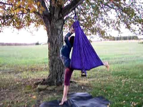 yoga swing instruction how to part 5 of 6 standing poses