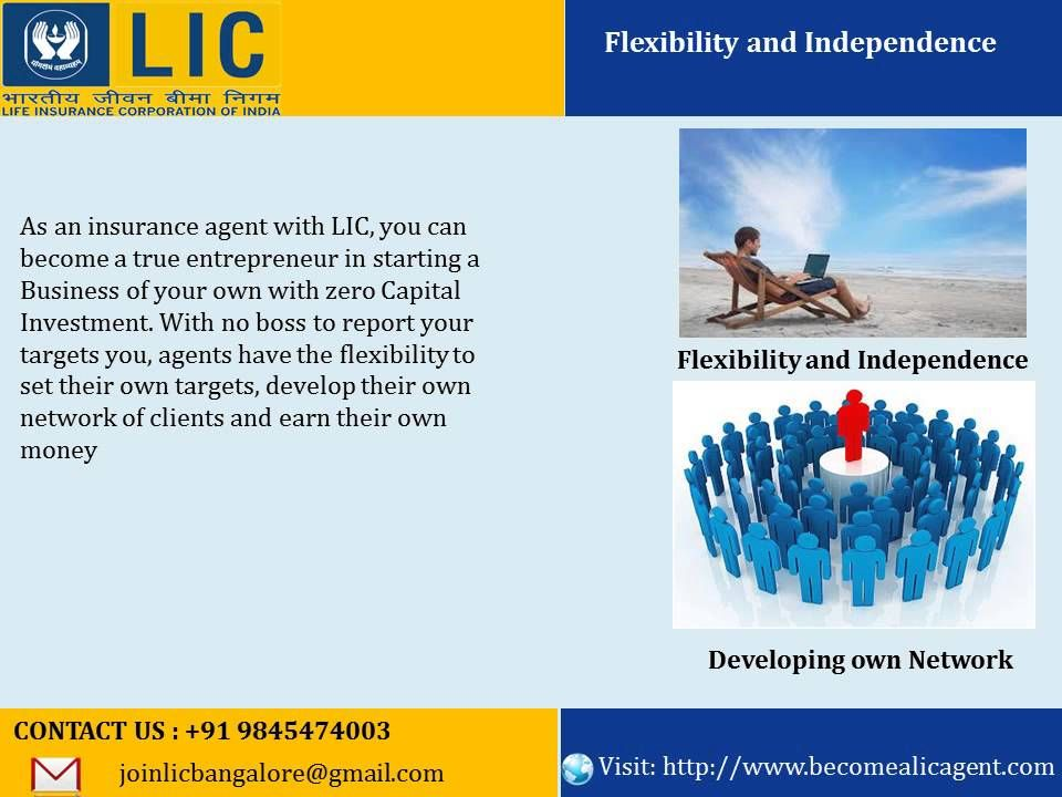 Want To Become A Lic Agent Bangalore Call 91 9845474003 How To