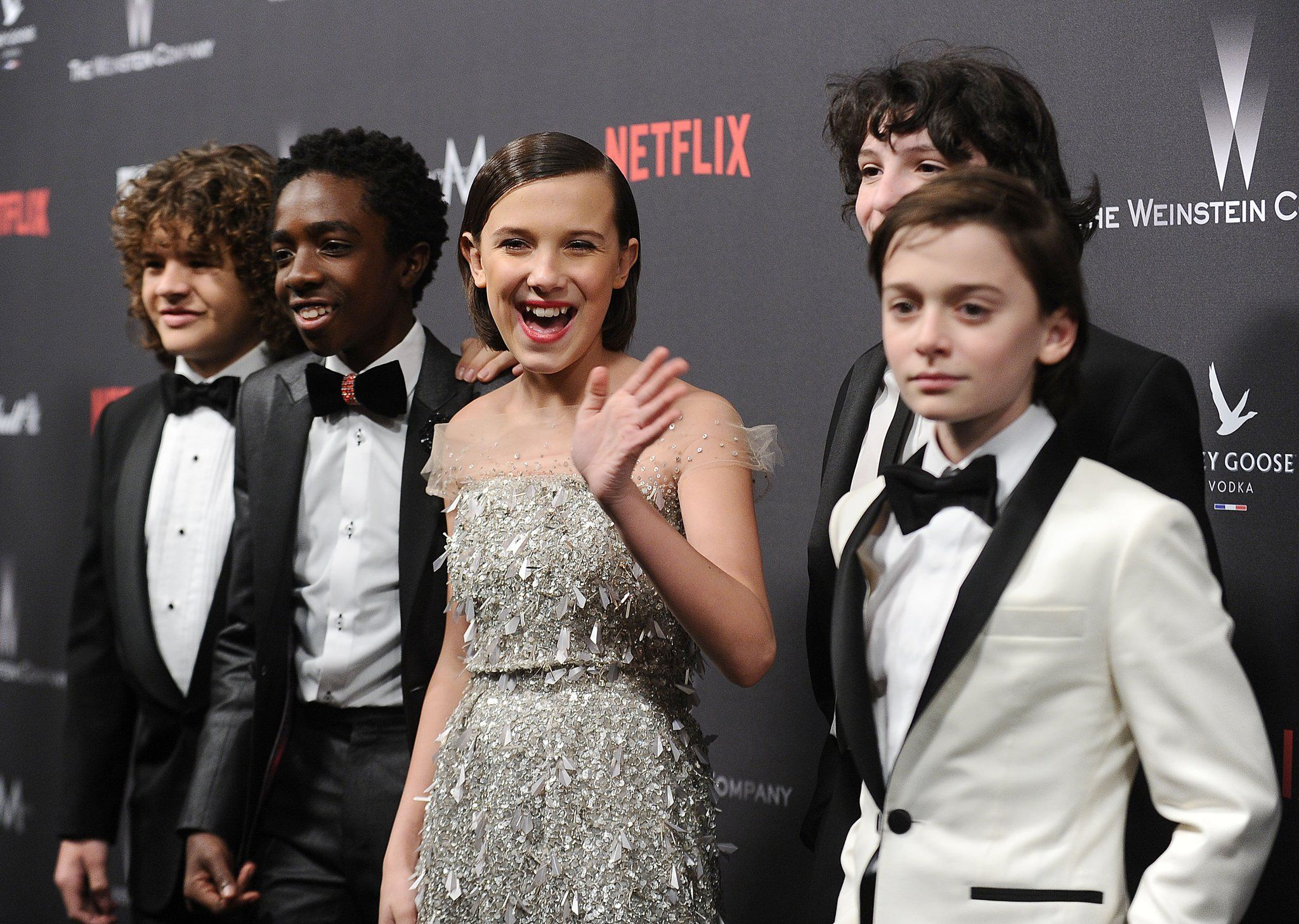 It Looks Like the Stranger Things Cast Stepped Out of a
