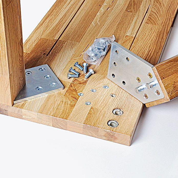 Tischplatte Eiche Fsc 70x70x3 2 Aspen Exklusivh Leimholz Tisch Eiche