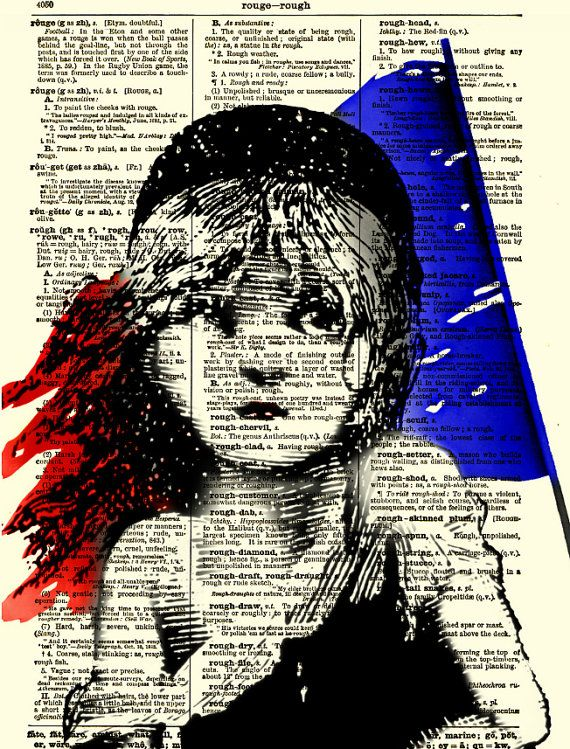 Art print POSTER les miserables