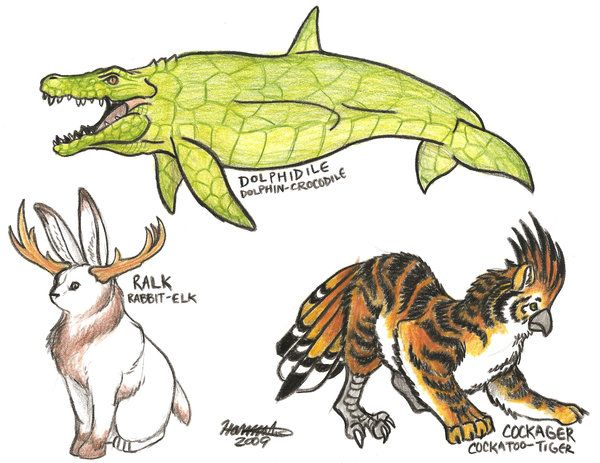 Hybrid Animal Drawings Has Science Gone Too Far Or Not