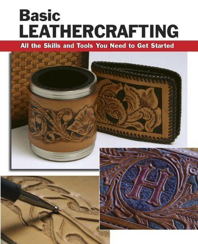 Basic Leathercrafting: All the Skills and Tools You Need to Get Started (How To Basic Series) by William Hollis, http://www.amazon.com.au/dp/B00AVZSPYM/ref=cm_sw_r_pi_dp_gS9Etb08C3161