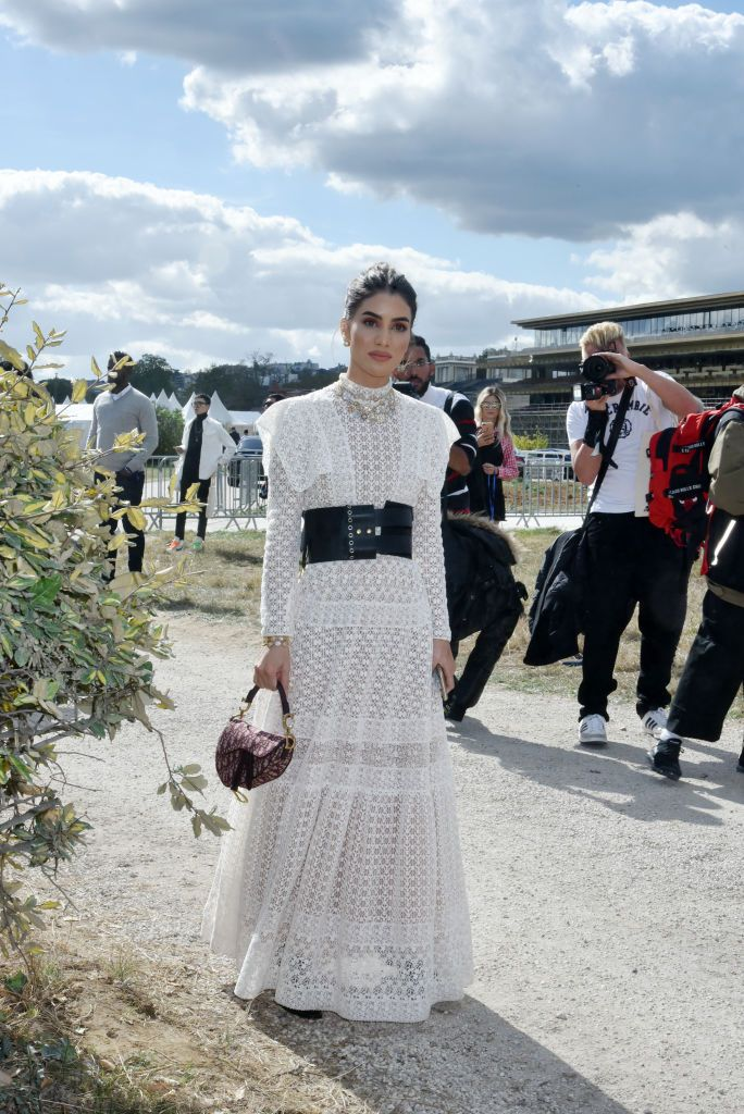 Camilla Coelho attends the Christian Dior show as part of the Paris…