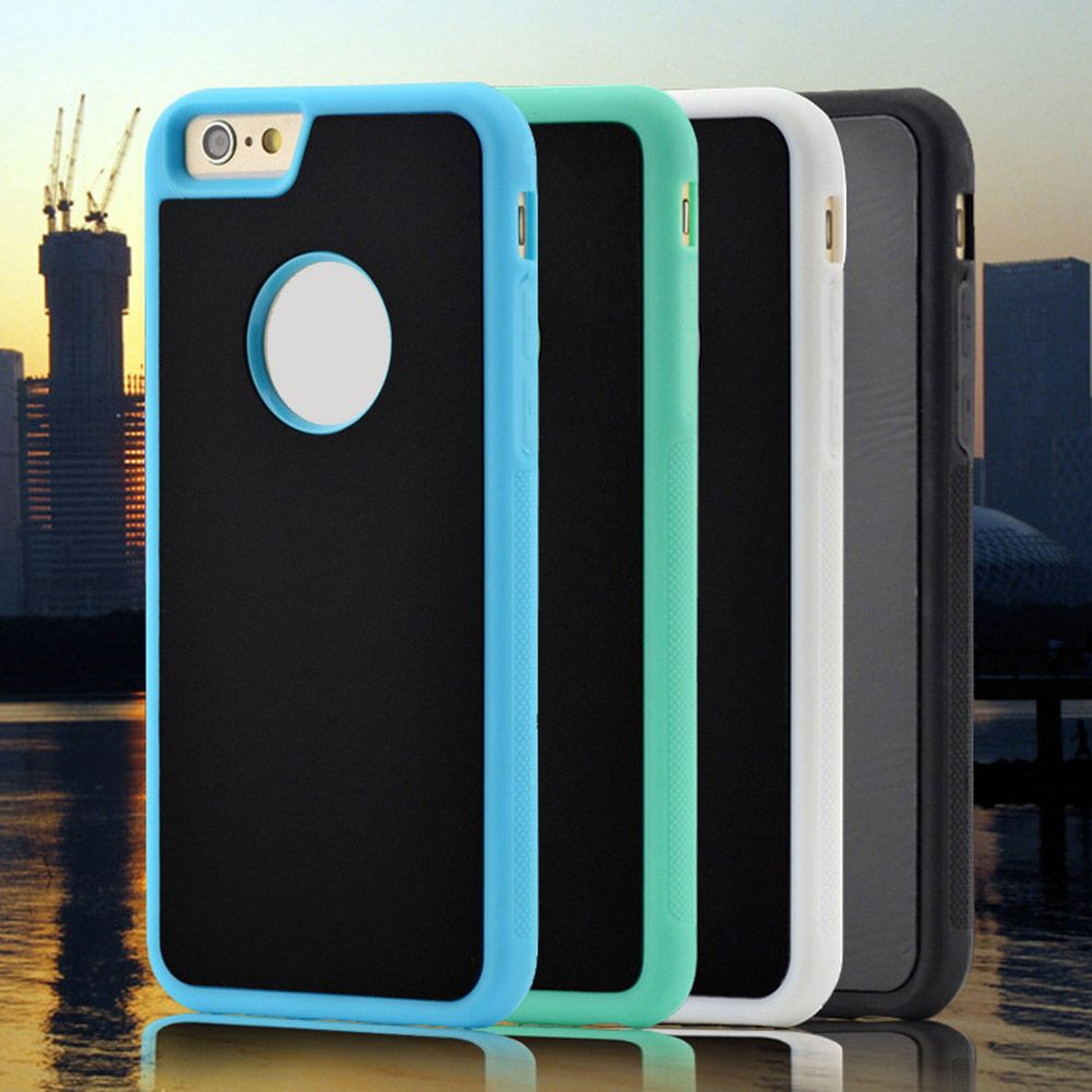 Neue ankunft für iphone 6 6 s 6 plus anti-schwerkraft tpu rahmen ...