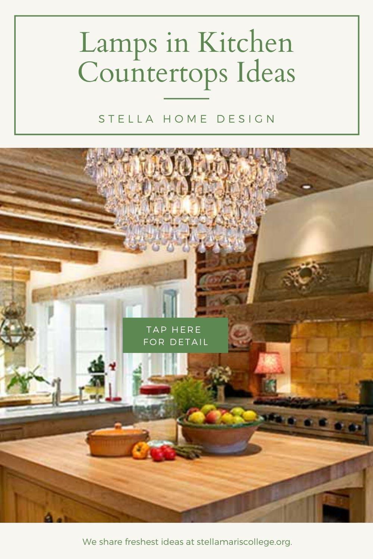 Good Life Of Design Small Lamps Decor Kitchen Vignettes