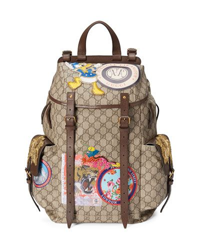 GUCCI Soft Gg Supreme Backpack With Patches cfaee3839c012