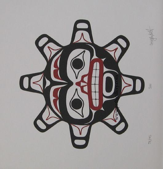 Bulpitt Corey Sun Northwest Coast Native Art Native American Art Haida Art Native Artwork
