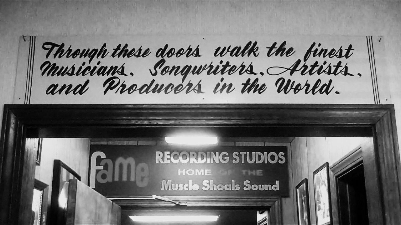 Through these doors walk the finest Musicians, Songwriters