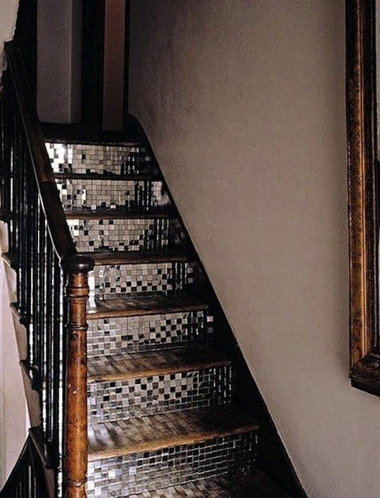 Bringing The Party Home Disco Ball Decor Escalier Carrelage