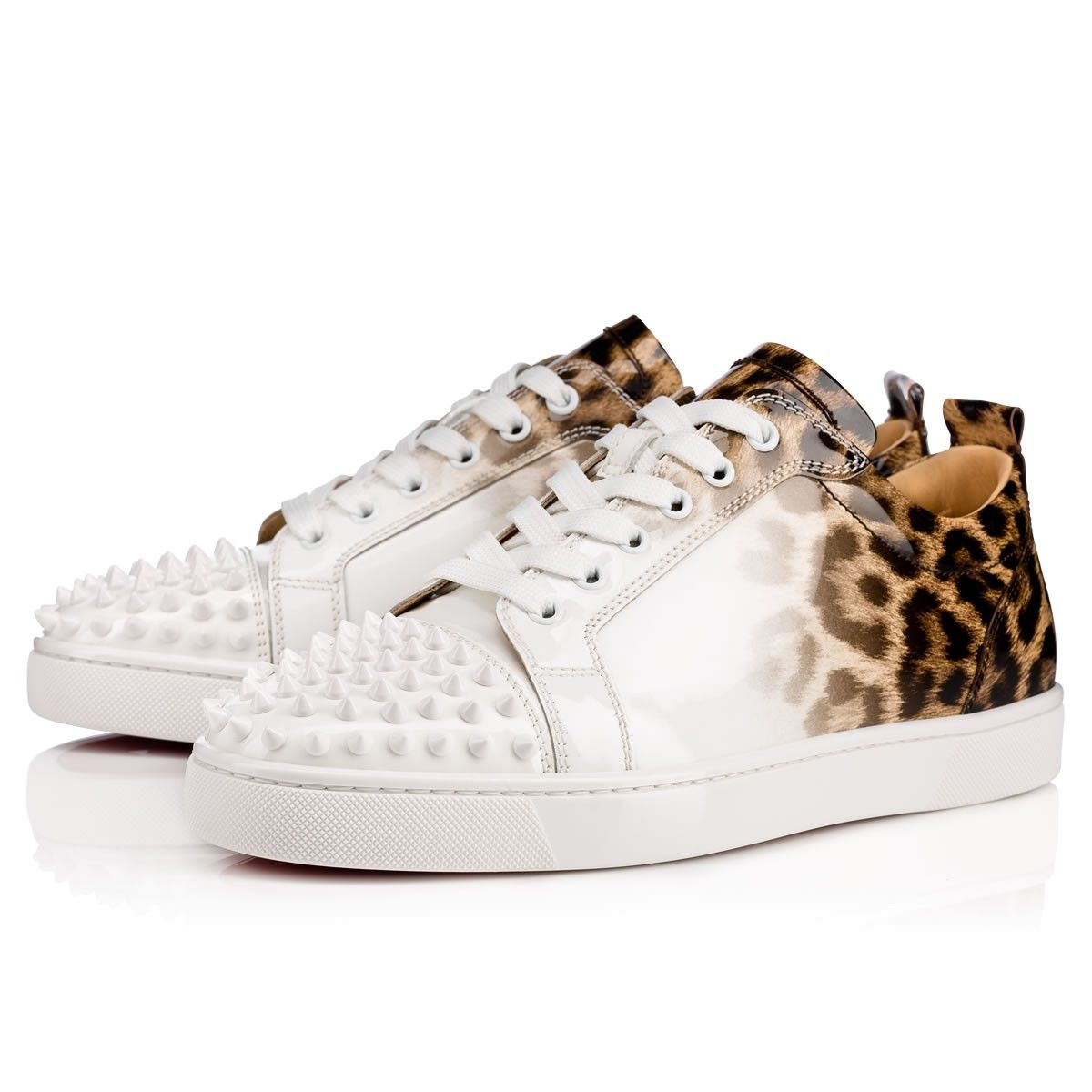 4f1689bf2025 Shoes - Louis Junior Spikes Men s Flat - Christian Louboutin