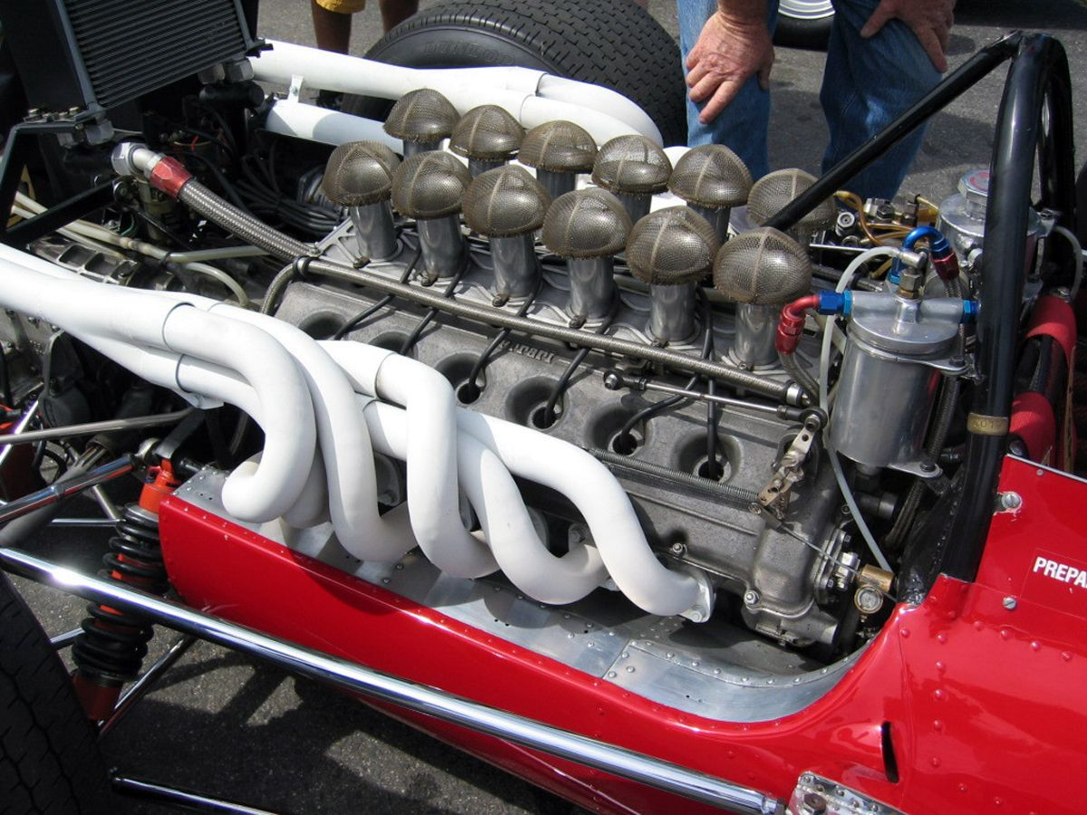 Chris Amon S Ferrari 312 69 V12 Engine In 1969 Those Have To Be The Most