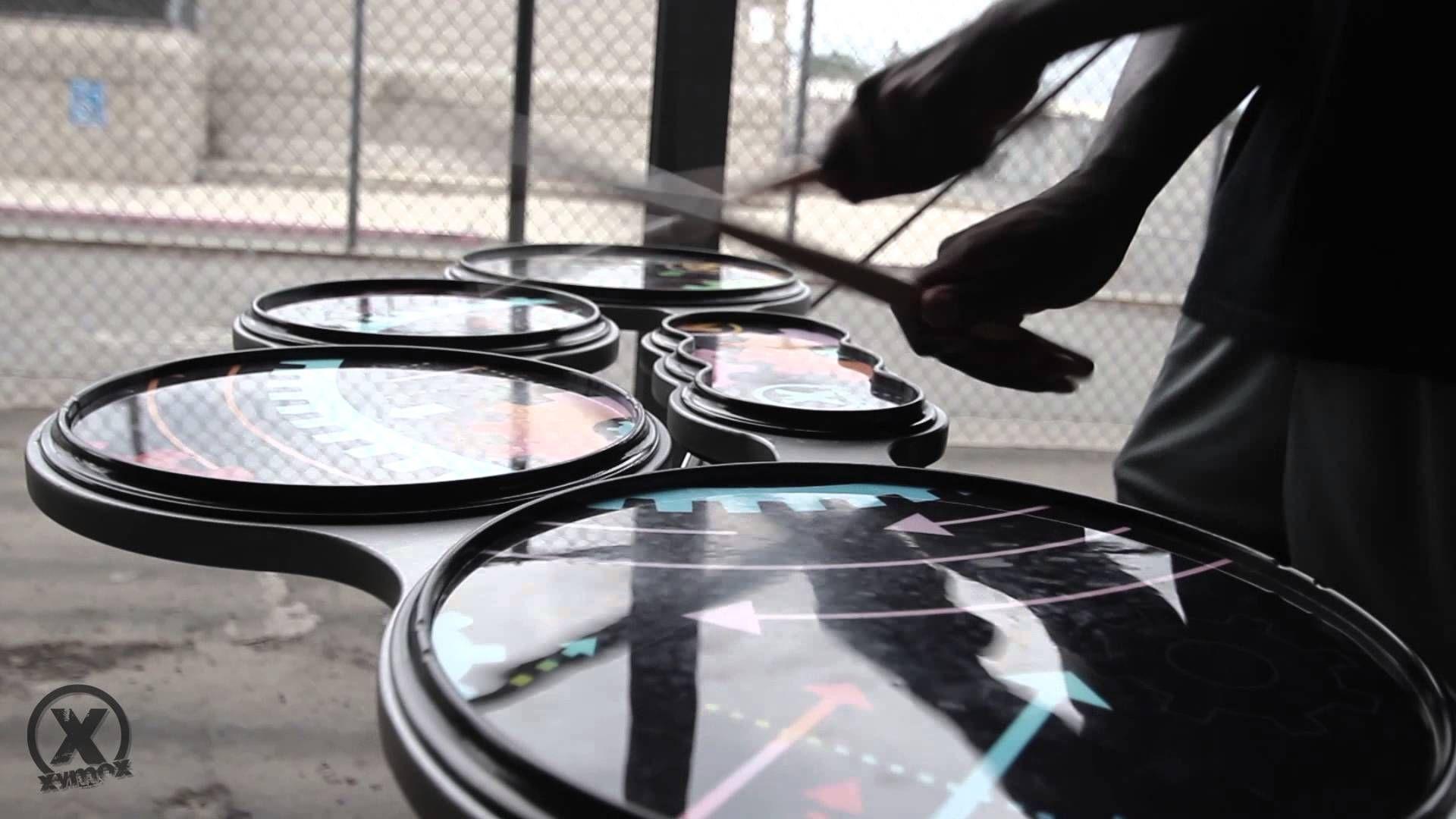 Xymox Percussion Tenor Pad Cat Eye Glass Percussion Glasses