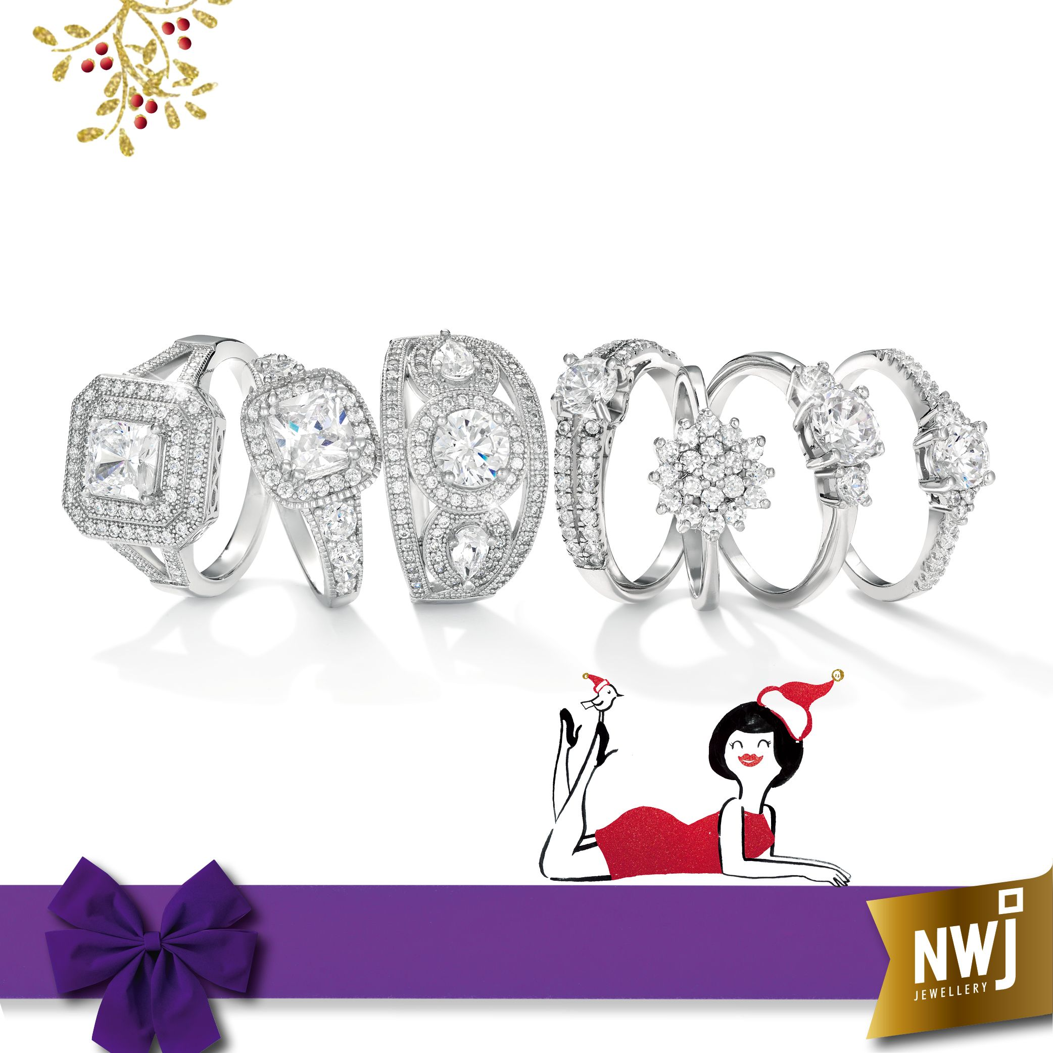 Twinkle Twinkle little CZ and Silver Rings see more of our