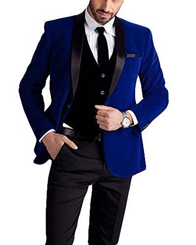 Blue Suit Black Pants