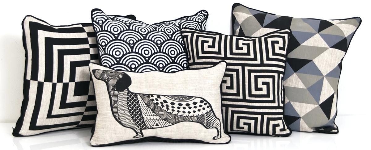 Decorative Pillow Modern Throw Pillows