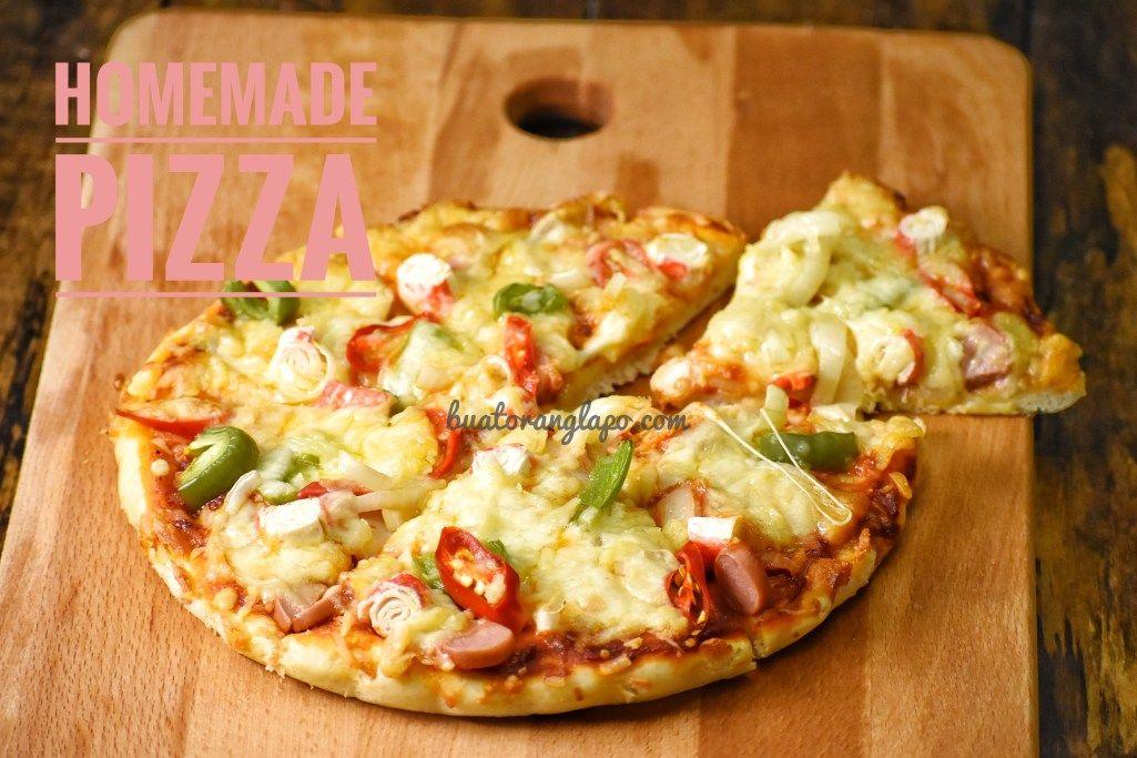 Homemade Pizza Mudah dan sedap Buat Orang Lapo di 2020