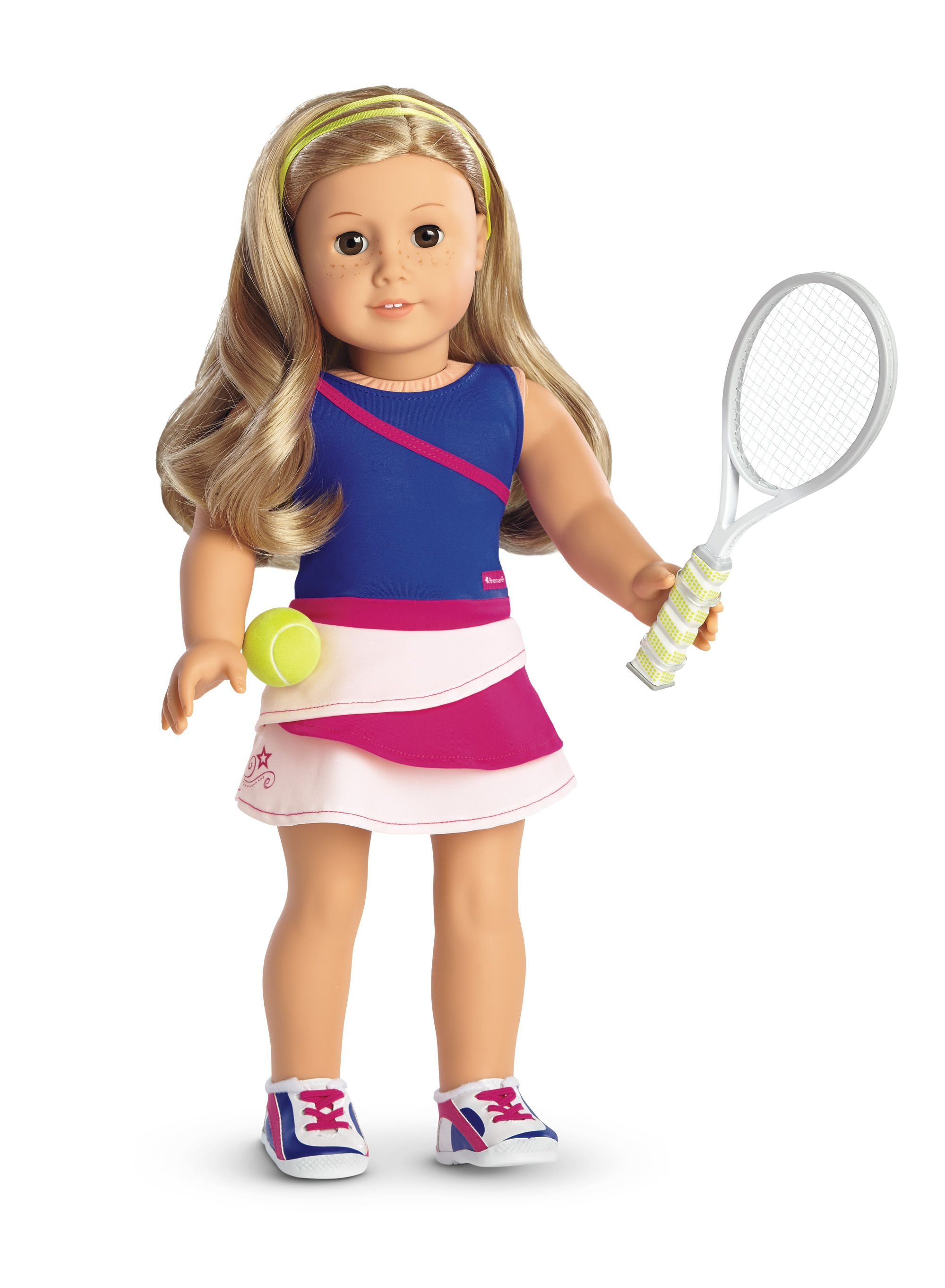 f2dd86a068b01 Tennis Ace Outfit for 18-inch Dolls | ARCHIVE: Truly Me | American ...