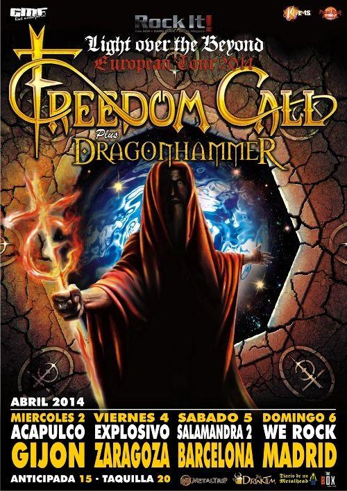 Freedom Call en España 2014