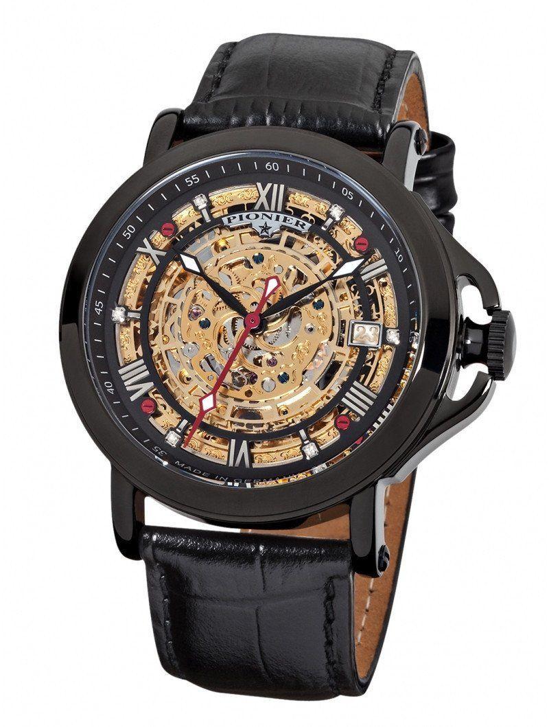 ARUBA Pionier GM5074 Handmade German Watches Gold