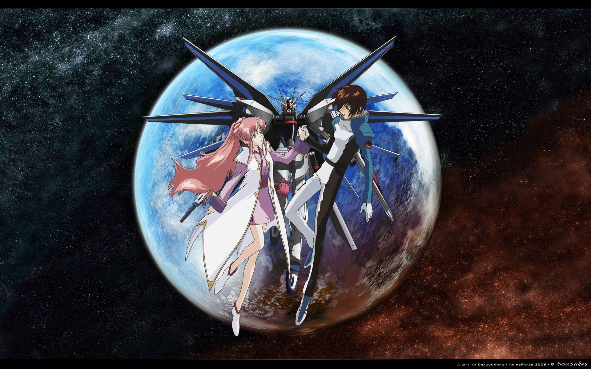 Kira & Lacus the Eternal Lover Gundam SEED Pinterest