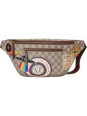 Photo of Gucci Courrier Waist Bag GG Supreme Beige / Ebony Check out the Gucci Cour …