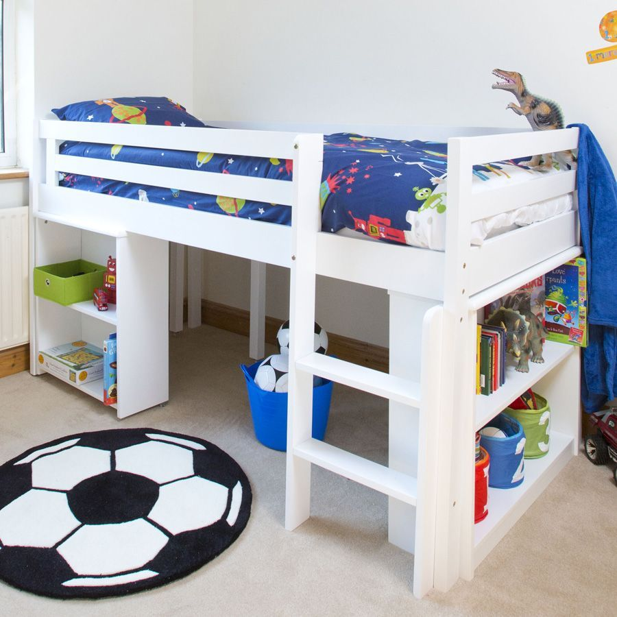 kids midi sleeper bed kids matttroy. Black Bedroom Furniture Sets. Home Design Ideas