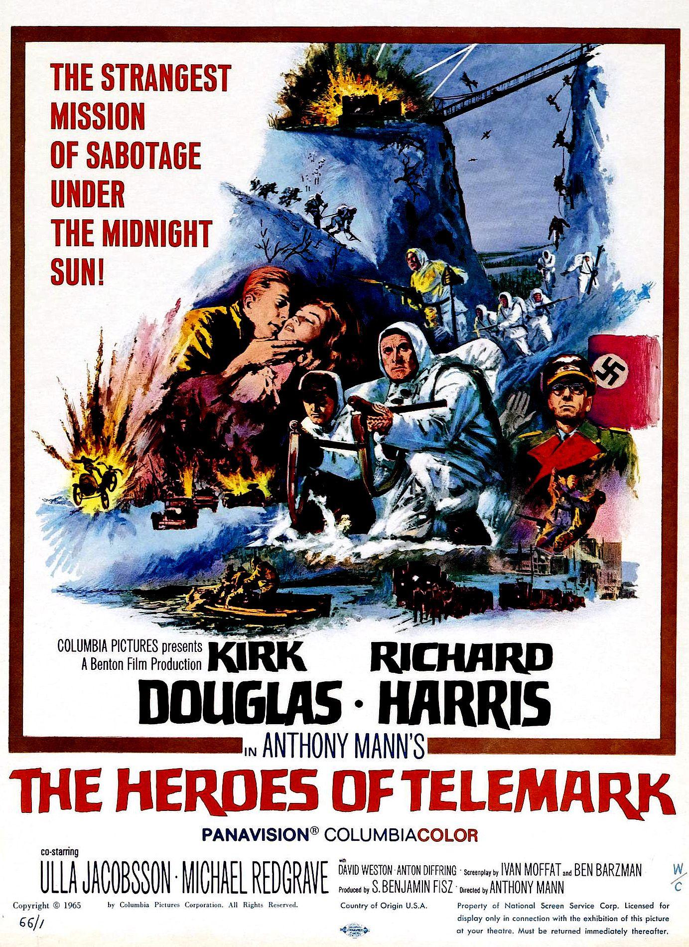 heroes of telemark movie