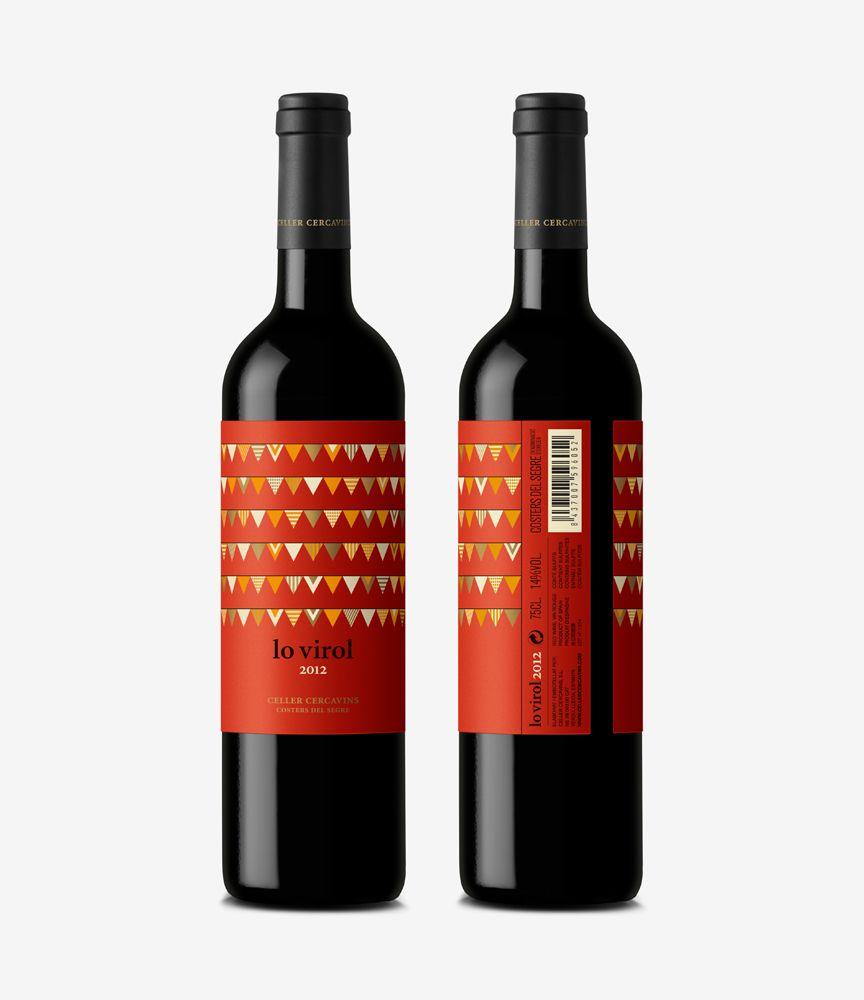 Lo Virol Wine Packaging Wine Design Alcohol Packaging
