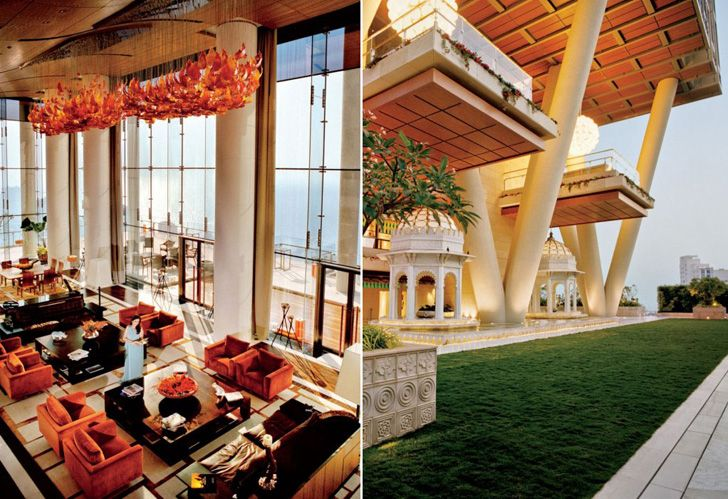 Mumbai tower world 39 s most expensive home amazing - Interiors by design family dollar ...