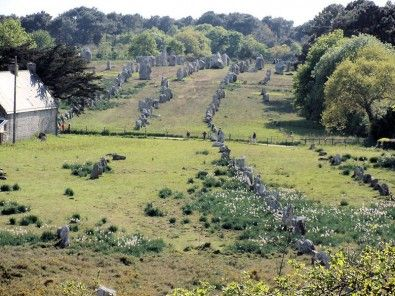 Brittany History - Carnac Stone- CR