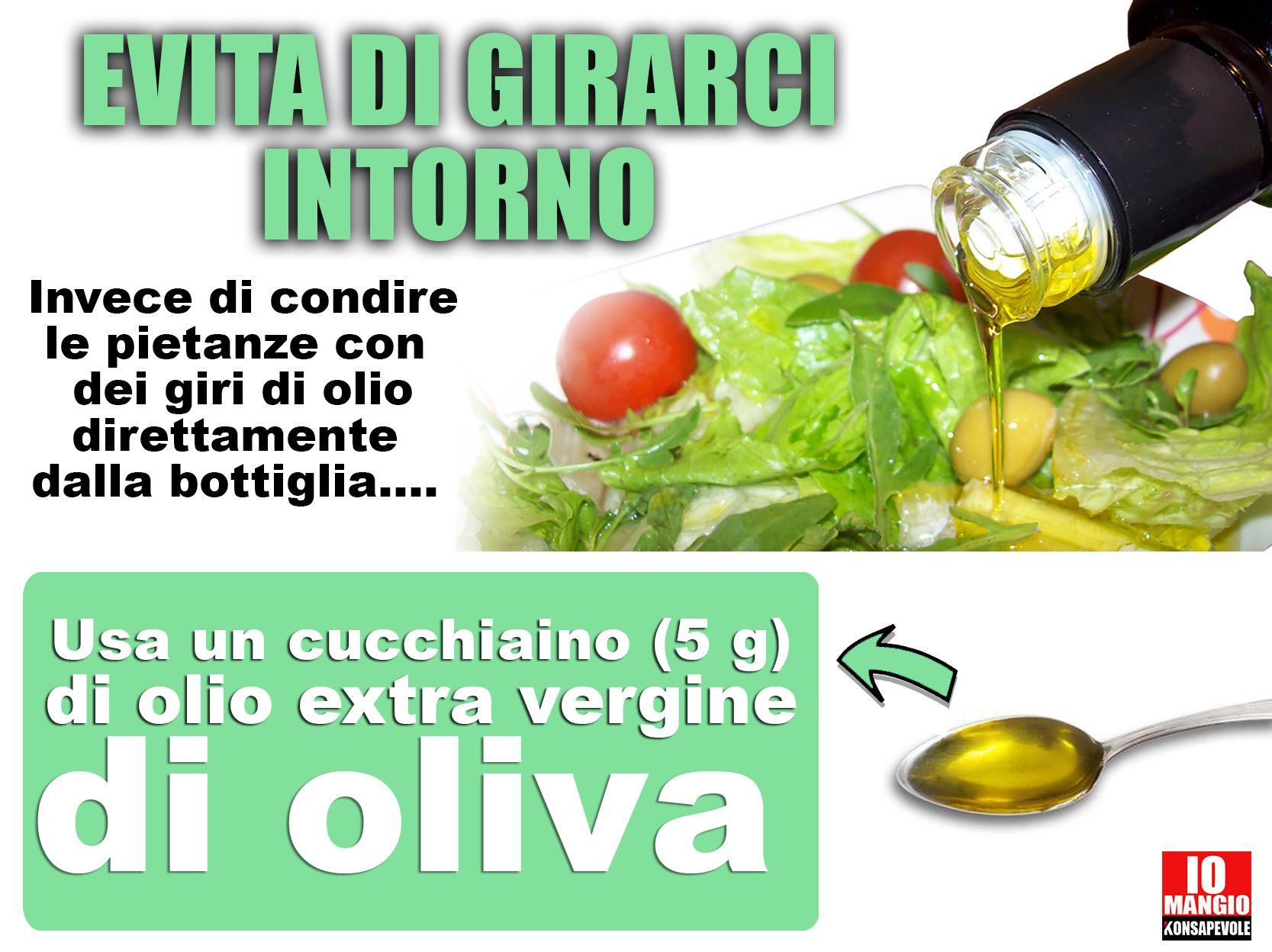 Olio di oliva (un cucchiaio) calorie - leCalorie.it