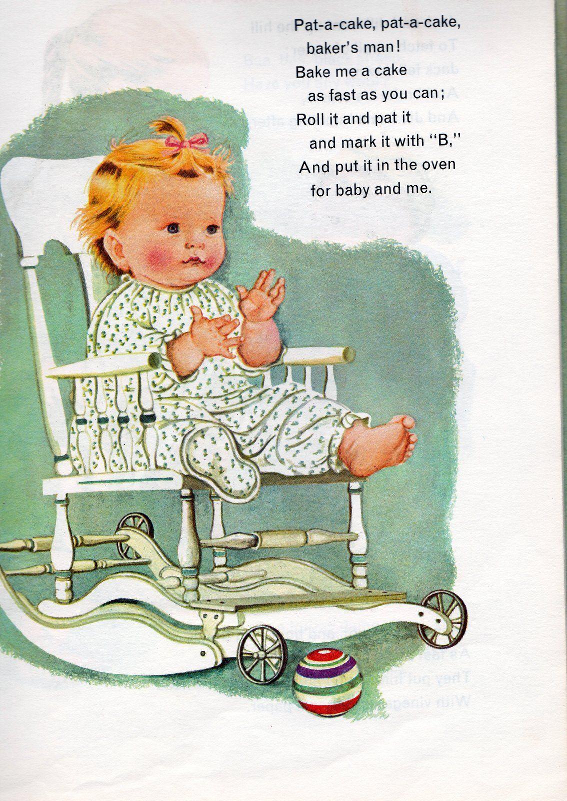 Eloise Wilkin Baby S Mother Goose Old Nursery Rhymes Nursery