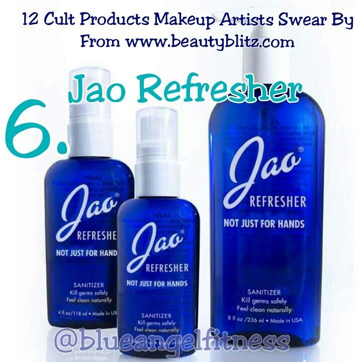 Jao Refresher This All Natural Hand Sanitizer Is Made With Alcohol