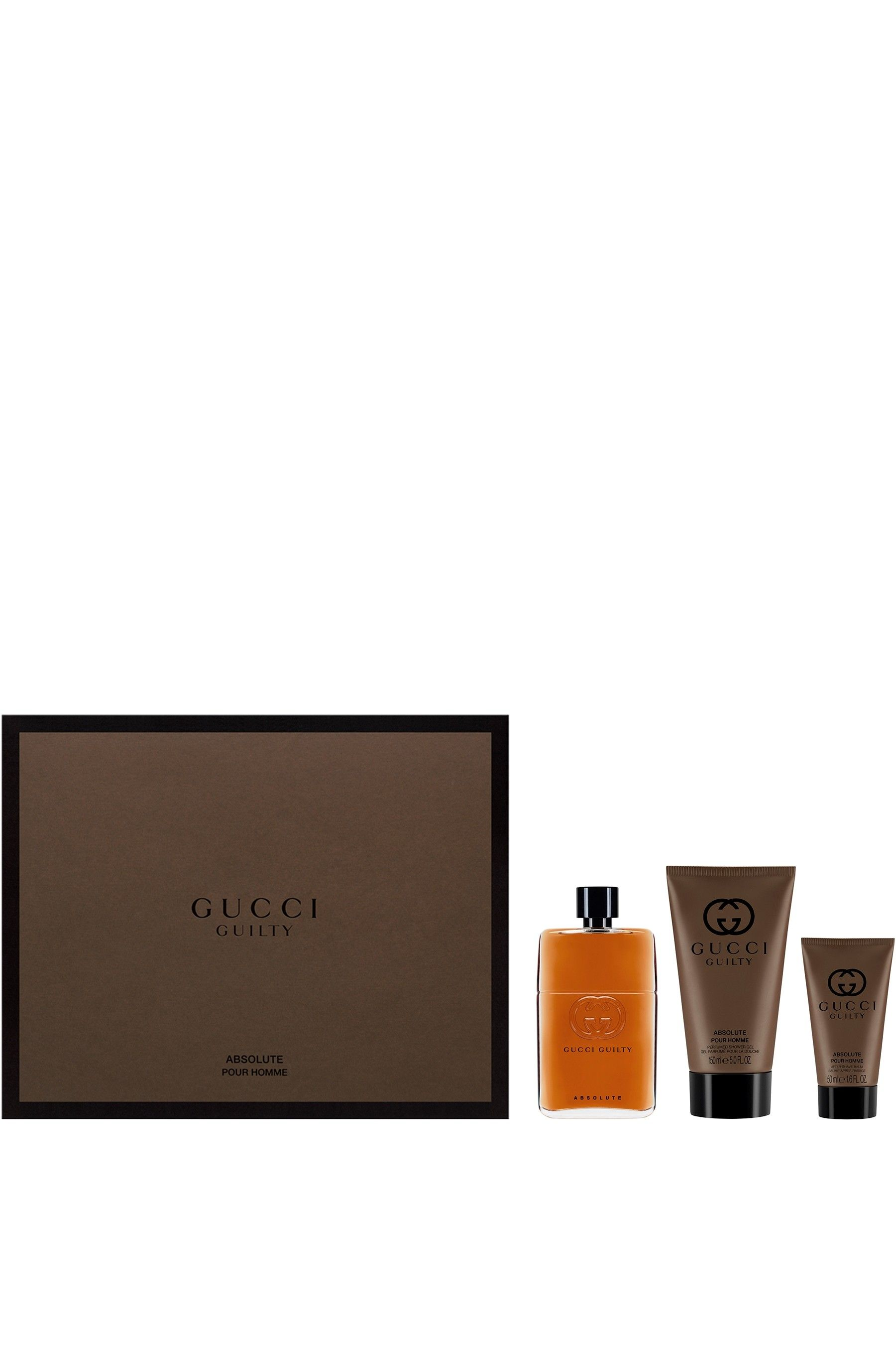 ccb412e8b Mens Gucci Guilty Absolute Eau de Parfum For Him 90ml Gift Set - No Colour