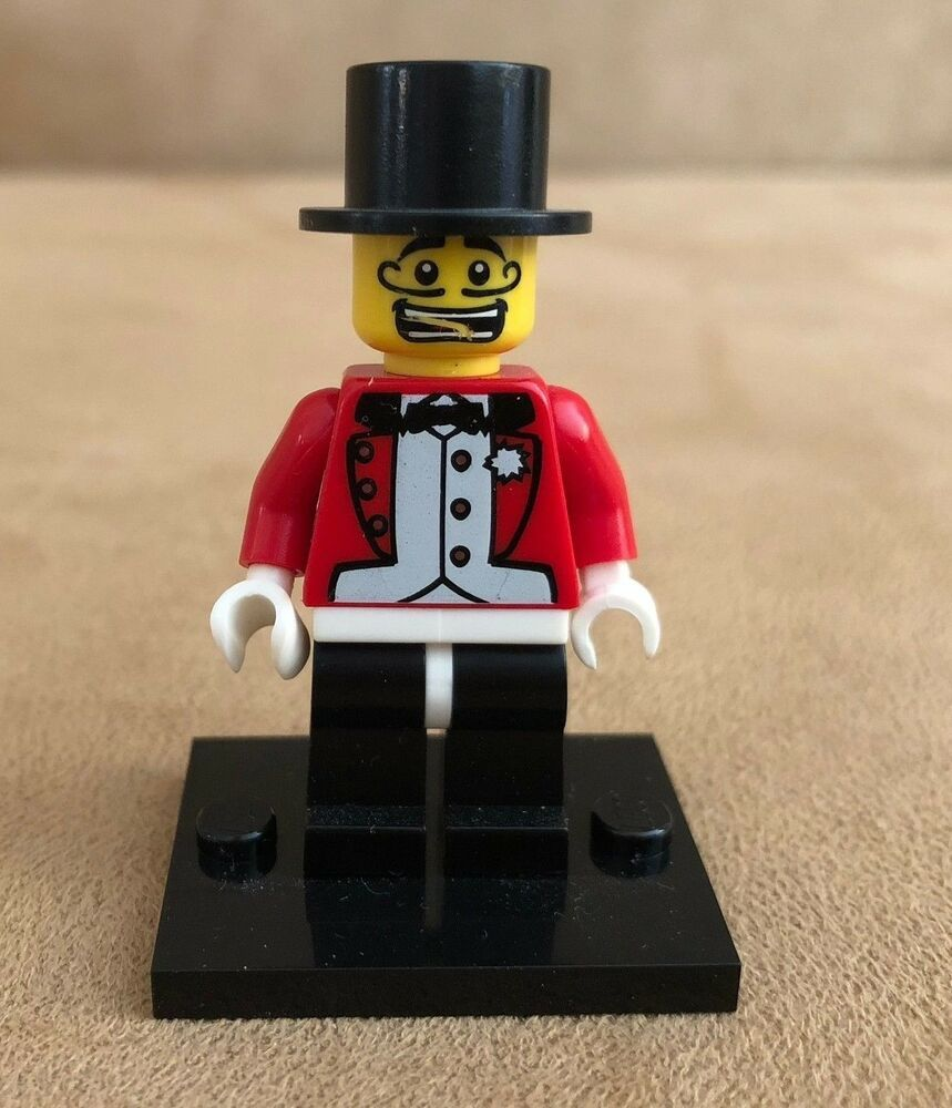 Ringmaster Lego Series 2 Collectible Minifigure circus