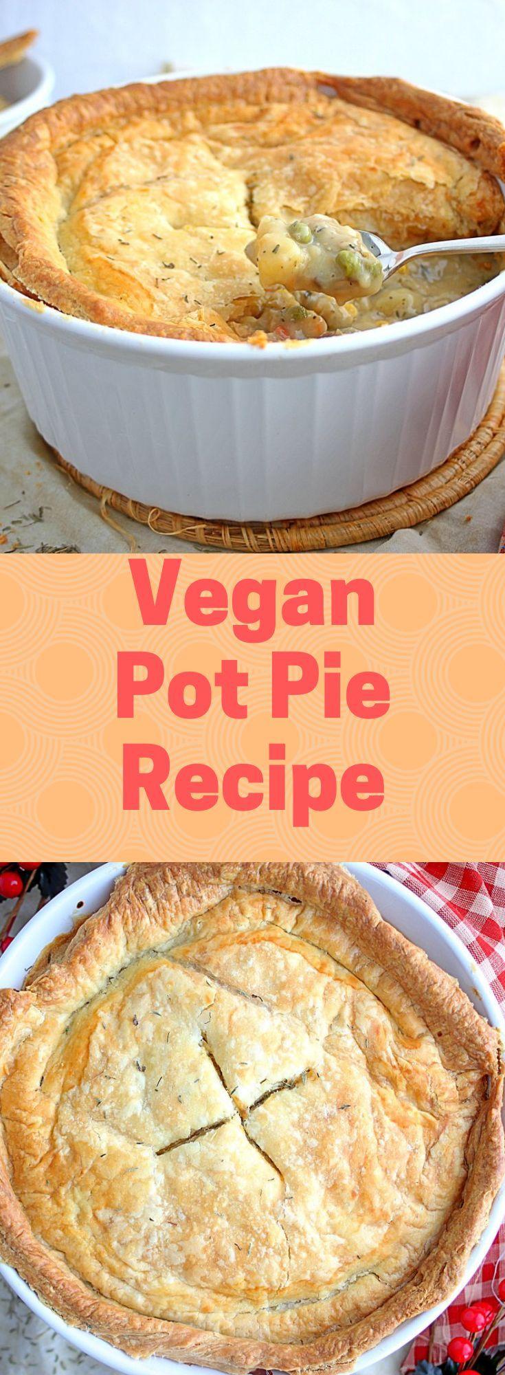 Vegan Pot Pie This comforting vegan meal has a del