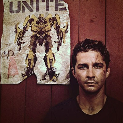 Shia Labeouf. He was in transformers.... I love both of