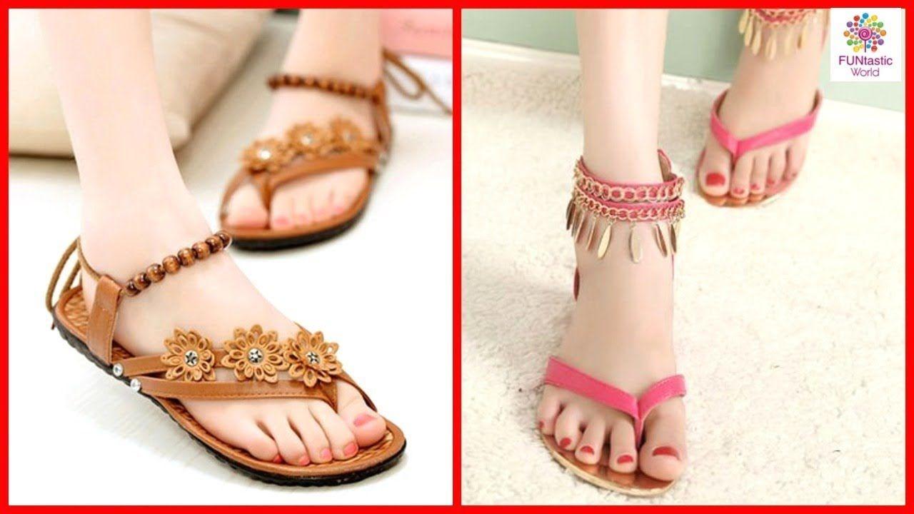 Stylish \u0026 Beautiful Flat Sandals for