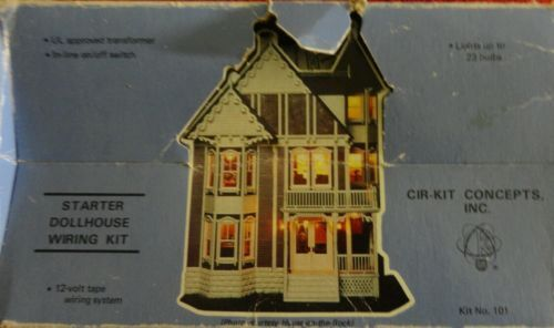 Incredible Kit 101 Starter Dollhouse Doll House Wiring Kit Lights Up To 23 Wiring Digital Resources Millslowmaporg