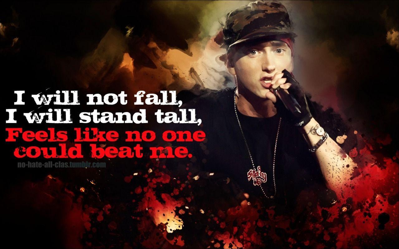 Eminem Till I Collapse Quotes Eminem Sport Quotes Best Songs
