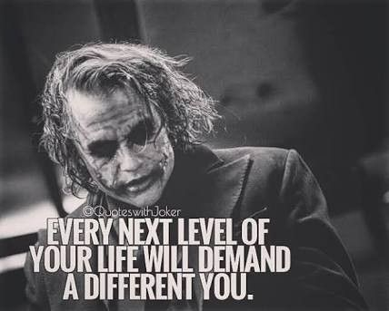 Be A Different Version Of Yourself My Favorite Quotes And Thoughts