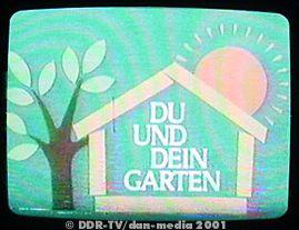 Ddr Fernsehen Du Und Dein Garten Fernsehen Der Ddr Ratgeber Und