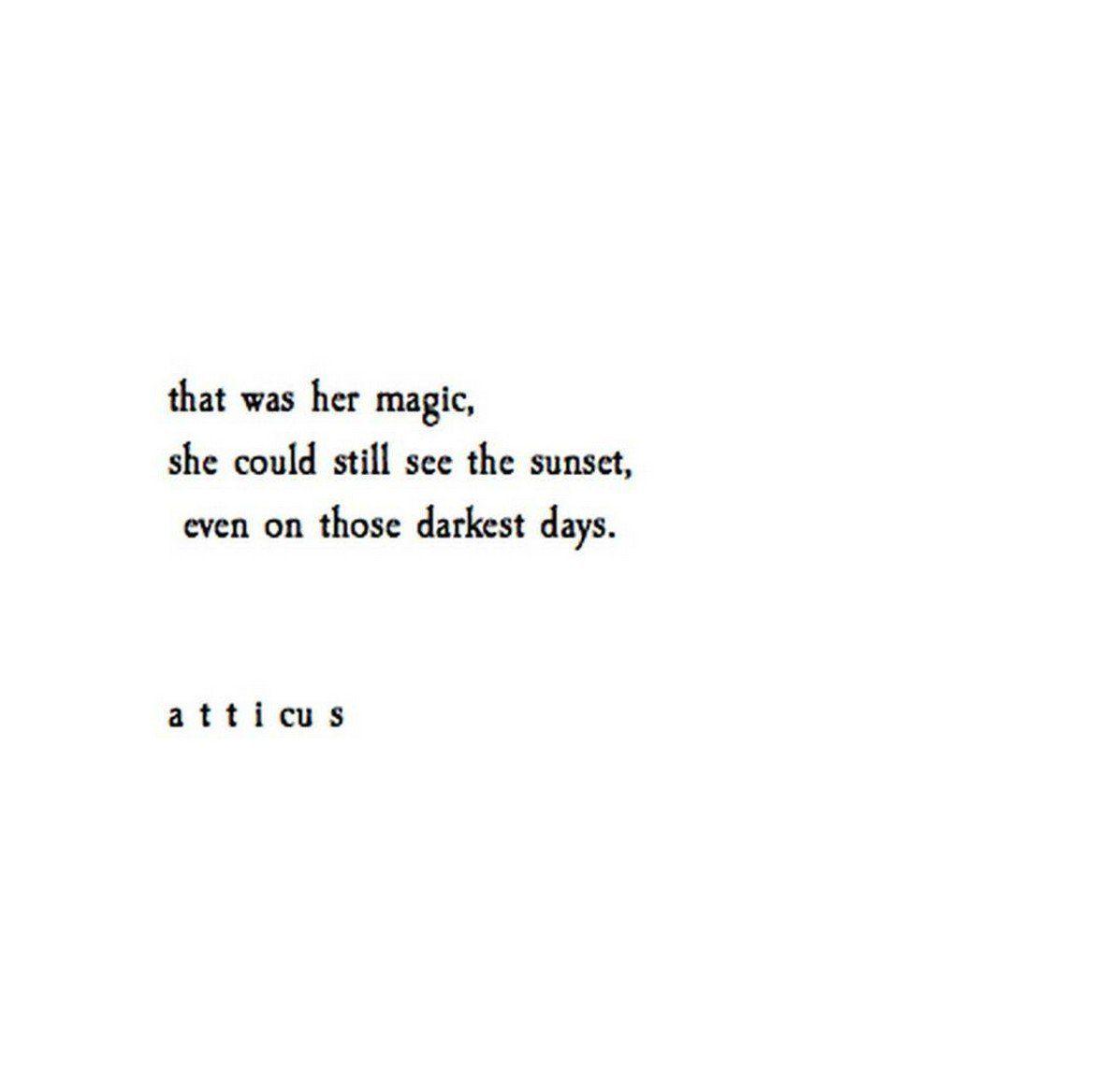 Her Quotes Atticus Poetry Atticuspoetry  Twitter  Poetry  Pinterest